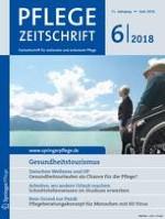 Pflegezeitschrift 6/2018