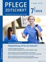 Pflegezeitschrift 7/2018