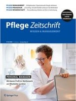 Pflegezeitschrift 1-2/2020
