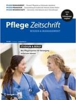 Pflegezeitschrift 4/2020