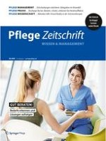 Pflegezeitschrift 6/2020