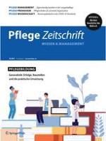Pflegezeitschrift 10/2021