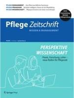 Pflegezeitschrift 6/2021