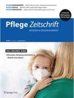 Pflegezeitschrift 9/2021