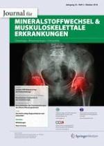 Journal für Mineralstoffwechsel & Muskuloskelettale Erkrankungen 3/2018
