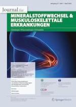 Journal für Mineralstoffwechsel & Muskuloskelettale Erkrankungen 1/2020
