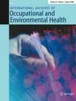International Archives of Occupational and Environmental Health 3/2008