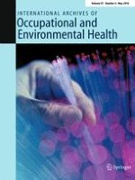 International Archives of Occupational and Environmental Health 4/2018