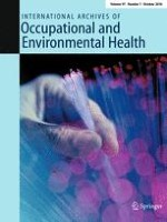 International Archives of Occupational and Environmental Health 7/2018
