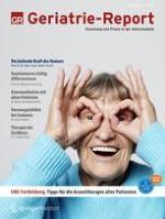 Geriatrie-Report 1/2019