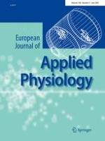 European Journal of Applied Physiology 4/2007