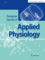European Journal of Applied Physiology 5/2008