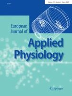 European Journal of Applied Physiology 4/2009