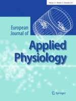 European Journal of Applied Physiology 12/2011