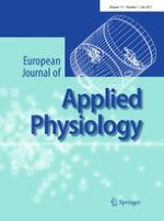 European Journal of Applied Physiology 7/2011