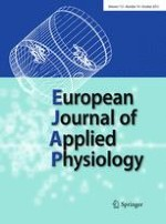 European Journal of Applied Physiology 10/2012