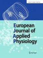 European Journal of Applied Physiology 3/2012