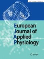European Journal of Applied Physiology 12/2013