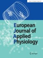 European Journal of Applied Physiology 8/2014