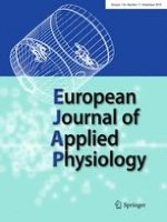 European Journal of Applied Physiology 11/2018