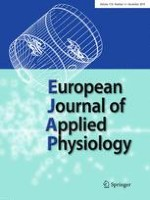 European Journal of Applied Physiology 12/2018