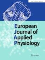 European Journal of Applied Physiology 3/2019