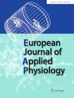European Journal of Applied Physiology 8/2020
