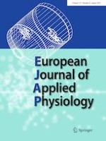 European Journal of Applied Physiology 8/2021