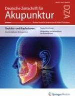 Deutsche Zeitschrift für Akupunktur 2/2018