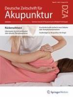 Deutsche Zeitschrift für Akupunktur 3/2018