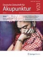 Deutsche Zeitschrift für Akupunktur 1/2019