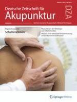 Deutsche Zeitschrift für Akupunktur 2/2019