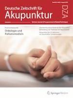 Deutsche Zeitschrift für Akupunktur 3/2019