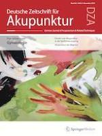 Deutsche Zeitschrift für Akupunktur 4/2019