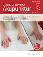 Deutsche Zeitschrift für Akupunktur 2/2020
