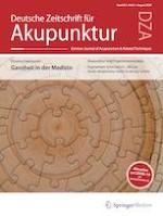 Deutsche Zeitschrift für Akupunktur 3/2020