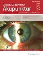 Deutsche Zeitschrift für Akupunktur 2/2021