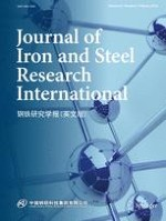 Journal of Iron and Steel Research International 2/2018