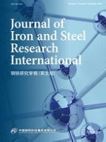 Journal of Iron and Steel Research International 9/2018