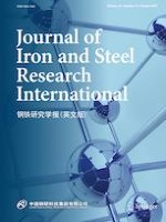 Journal of Iron and Steel Research International 10/2019