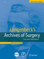 Langenbeck's Archives of Surgery 5/2009