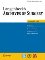 Langenbeck's Archives of Surgery 2/2013