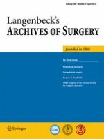 Langenbeck's Archives of Surgery 4/2013