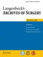 Langenbeck's Archives of Surgery 8/2013