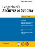 Langenbeck's Archives of Surgery 2/2014