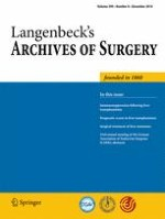Langenbeck's Archives of Surgery 8/2014