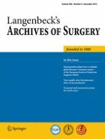 Langenbeck's Archives of Surgery 8/2015