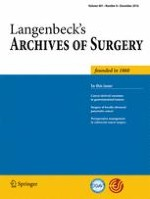 Langenbeck's Archives of Surgery 8/2016