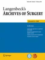 Langenbeck's Archives of Surgery 1/2018