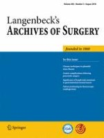 Langenbeck's Archives of Surgery 5/2018